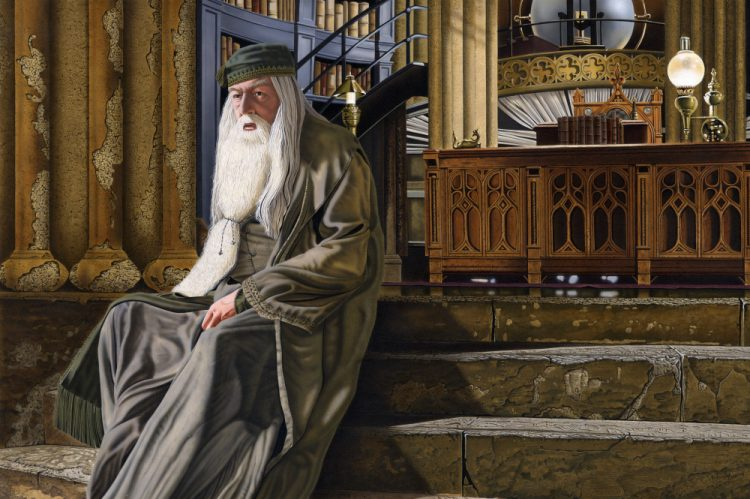 """Albus Dumbledore"" by Mark Davison"