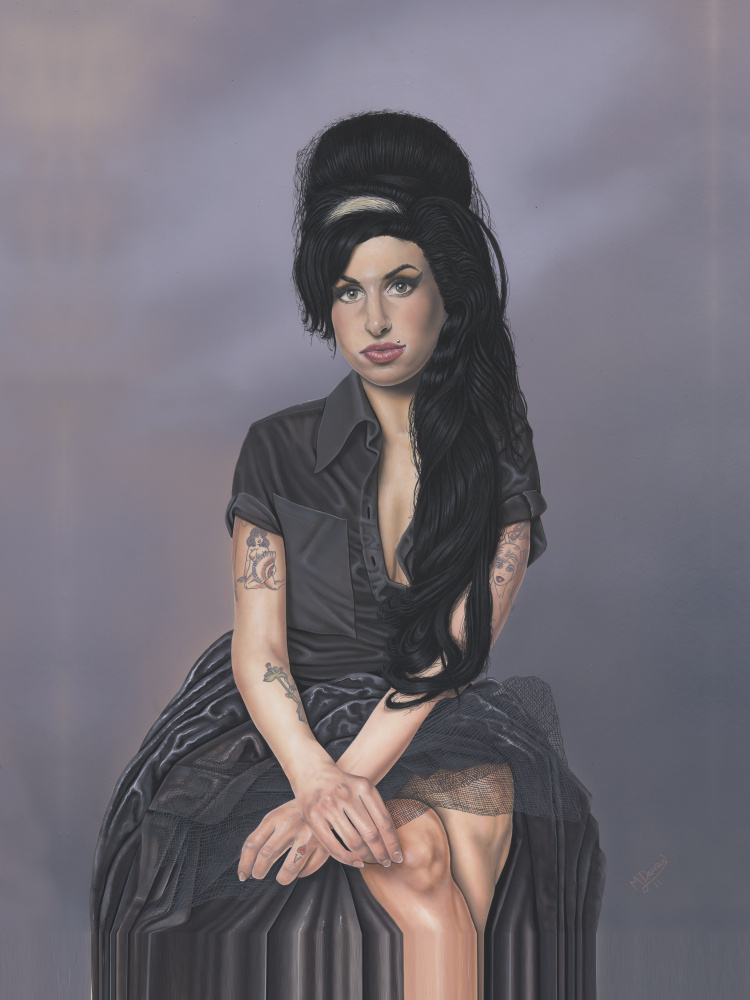Amy Winehouse (portrait painting)