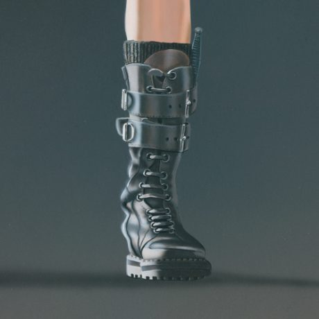 Angelina (Tomb Raider, front-on) by Mark Davison [detail]