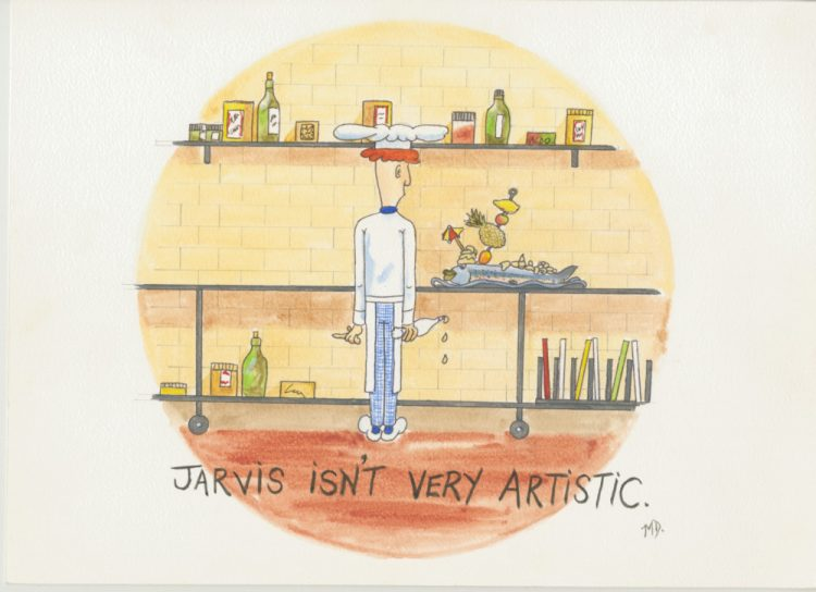 Jarvis (isn't very artistic) [cartoon chef]